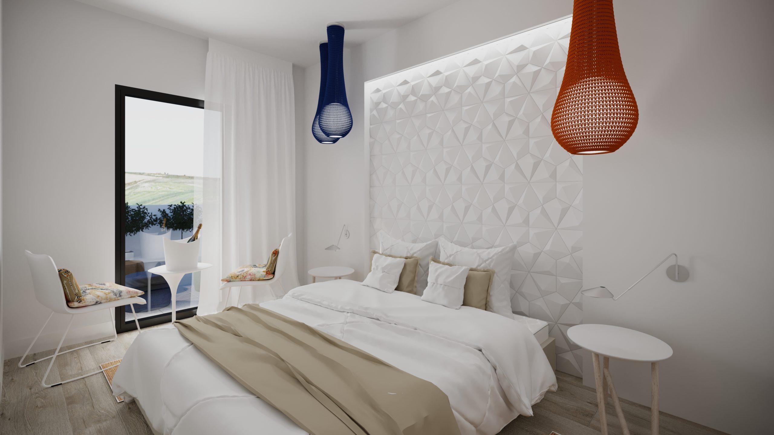 Dormitorio Ático 3 dormitorios